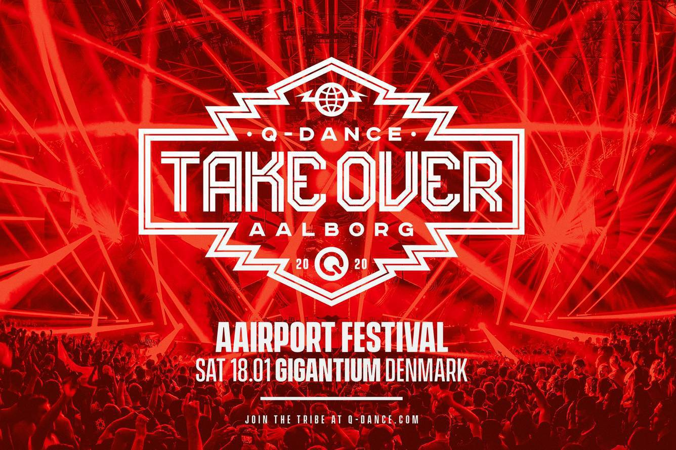Q-dance Take Over at Aairport Festival 2020